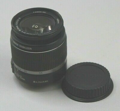 Canon EF-S (18-55mm) 1:3.5-5.6 IS Zoom Lens - TESTED & WORKING