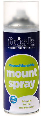 Frisk Repositionable Mount Spray 400ml (Can)