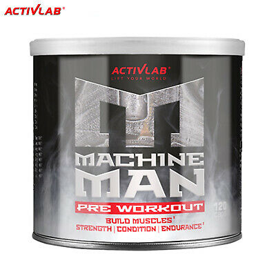 MACHINE MAN PRE-WORKOUT Booster - Muscle Energy Focus Better Performance !NEW!