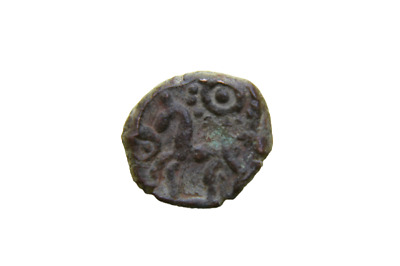 Celtic Bronze Coin Ambiani with Horse  60-40 BC