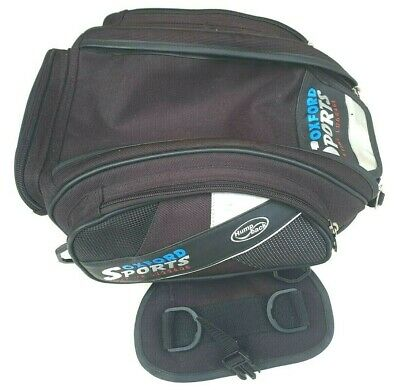 Oxford Sports Tail Pack / Tank Bag Hump Back LifeTime Luggage