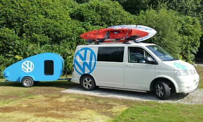 vw camper day van with bedroom trailer and air awning