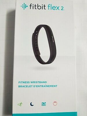 Fitbit Flex 2 Fitness Wristband - Black small&large