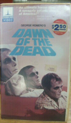 Dawn of The Dead Rare OOP Original Hard Cover VHS (See description for details)