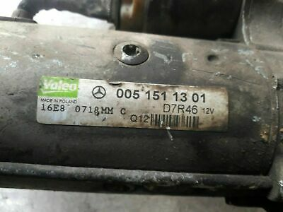 Mercedes Vito- Sprinter C Class   Starter Motor Part No- 0051511301