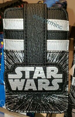 2020 Disney Parks Wallet ID Card Holder STAR WARS Logo New Credit