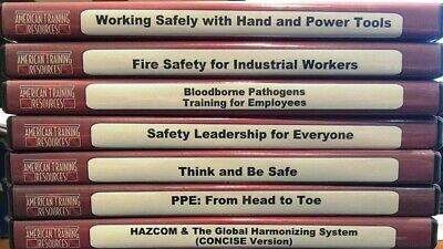 American Training Resources Safety CD's (Quantity 7 CD's))