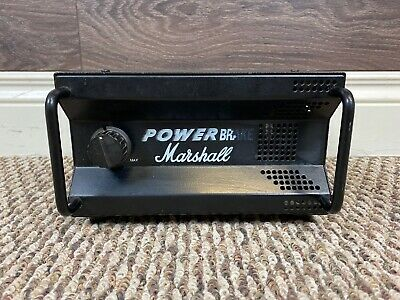 Marshall PB-100 Power Brake Guitar Amp Attenuator Black