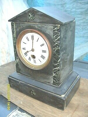 Marble  /  Slate  Clock Time  Piece Spares To  Repair