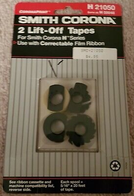 Free Shipping in USA Smith Corona SD850 Ribbon and Correction Tape Cassette