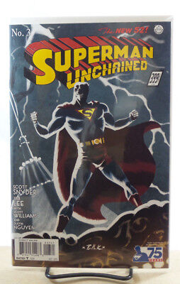 SUPERMAN UNCHAINED #1 1930 SUPERMAN DC 2013 1:100 BRUCE TIMM VARIANT