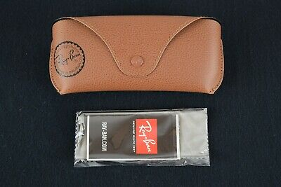 Genuine Ray-Ban Sunglasses Case + Booklet + Cloth