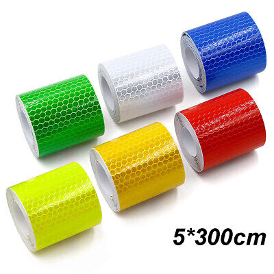 3m Car Safety Warning Reflective Tape Stickers Roll Film Reflector Sticker Decal