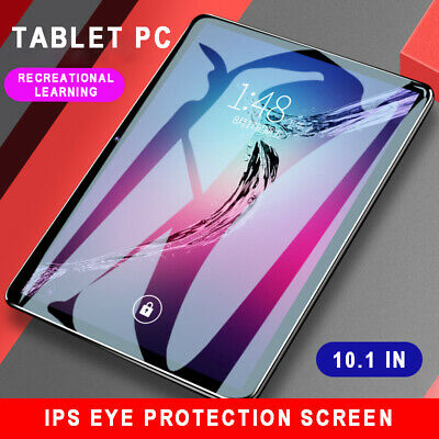 """10.1"""" Tablet PC SIM Camera WIFI Android8.1 bluetooth HD Touch Screen 6G+128GB AU"""
