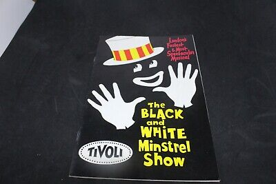 The Black and White Minstrel Show -  Vintage Theatre Programme