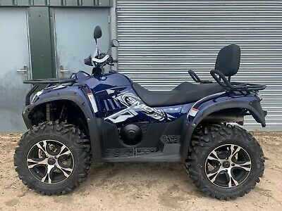 Max 700Le Two Seater Efi 4X4 From £32.78 Per Week Finance Road Legal Quad Bike