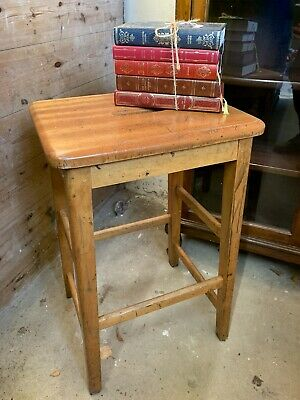 Vintage School Science Lab Stool
