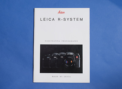 Leica R-System dealers product catalogue brochure manual