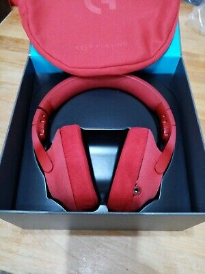 Logitech G433 Wired Gaming Headset, 7.1 Surround Sound  PC, Xbox, PS4, Red #82