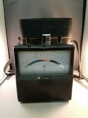 YEW Vintage Yokogawa Electric Works  Portable  Volt Ammeter No. 33067M With Case
