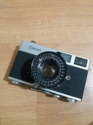 Canon Canonet 35mm Film Camera With Canon 45MM 1:1.9 SE Lens