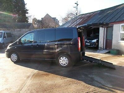 Wheelchair Car Disabled Car Wav Accessible 2011 61 Peugeot Expert Tepee 4 Seats