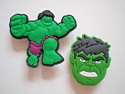 Clog Charm Shoe Plug Button Fits Accessories For WristBand Incredible Hulk