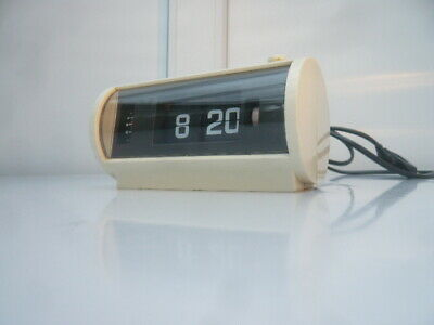 Flip clock Space Age Design Klappzahlen Wecker LW-1