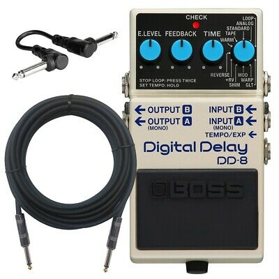 Boss DD-8 Digital Delay Pedal CABLE KIT