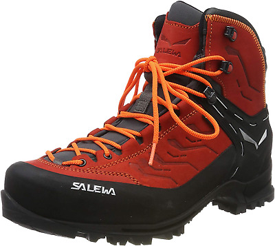 Salewa Men's Ms Rapace GTX High Rise Hiking Shoes, Red Bergrot/Holland 1581, 6