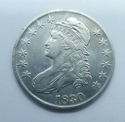 1830 Capped Bust Half Dollar YOU GRADE