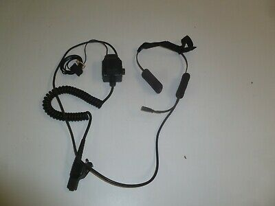 RARE New Eagle Communications DB Series Two Way Radio Headset