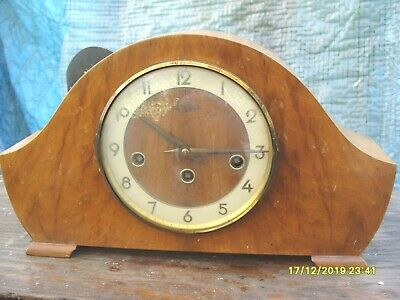 Clock Parts  Bentima Ticking  Westminster Floating  Balance + Key Complete Clock