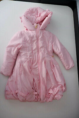 A Dee Pink Padded Jacket Age 6 Years Size 116 Gc Girls