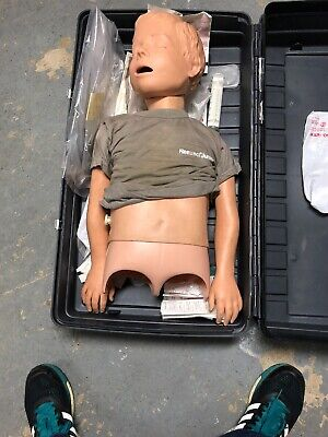 Laerdal Resusci Little Junior Child Cpr Training Manikin -With Case