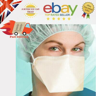 Disposable Medical Face Mask Surgical Respirator Dental Dust Flu Virus Mouth