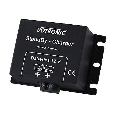 Votronic 2A 12V DC to DC battery to battery trickle charger/standby charger for