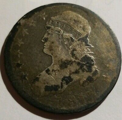 1813 Capped Bust Half Dollar O-102 R.4 F Nice Coin Rare Variety Make an Offer!