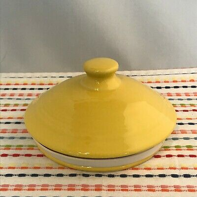 Fiestaware Sage MEDIUM Canister Lid Fiesta Retired Green Replacement LID ONLY