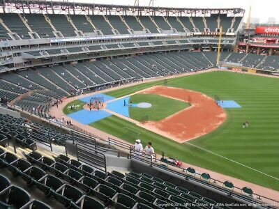 4 TICKETS TEXAS RANGERS @ CHICAGO WHITE SOX 4/19 *Sec 518 FRONT ROW AISLE*