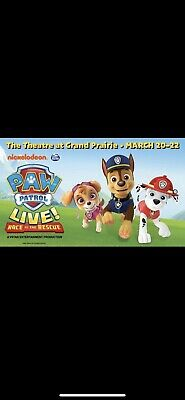 paw patrol live tickets Suite With VIP Parking Dallas