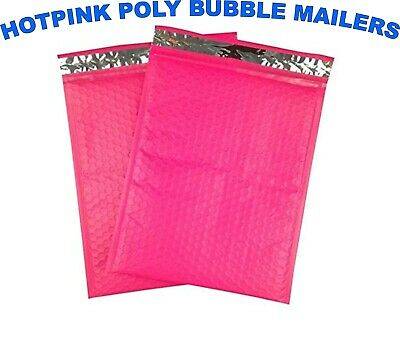 Poly Bubble Mailers Pink Any Size Padded Envelopes Shipping Mailing Bags