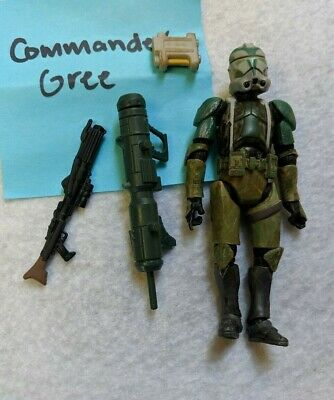 Star Wars Commander Gree 2008 3  3/4 Inch Action Figure