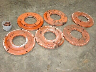 Fordson Major Diesel Tractor Rear Wheel Weights & Hardware