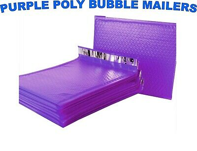 Poly Bubble Mailers Purple Any Size Padded Envelopes Shipping Mailing Bags