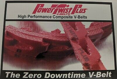 FENNER DRIVES B or 5L 0405050 25ft POWERTWIST PLUS V-BELT