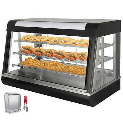 Commercial Food Warmer pastry warmer sliding doors patty warmer NOVEL DESIGN