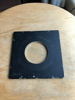 Genuine Sinar 140mm x 140mm lens board panel with copal compur 3 hole 65mm