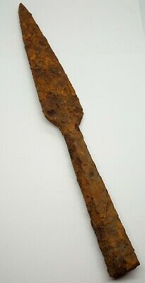 Iron Large Spear 262mm. Scythian 500-100BC.