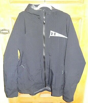 Under Armour Storm Men's XXL Gore-Tex Rain Jacket, ( Black )  XXL  EXCELLENT!